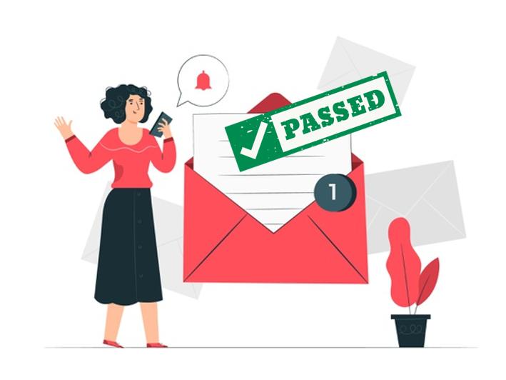 Mail Domain 是需要通行證的。